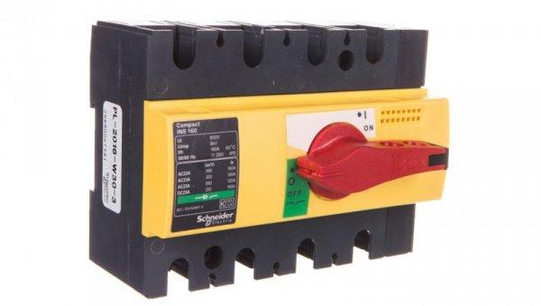 Rozłącznik izolacyjny 4P 160A INS160 28929
