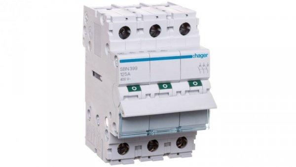 Rozłącznik modułowy 125A 3P SBN399