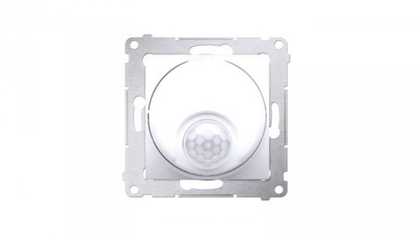 Simon 54 Czujnik ruchu tranzystorowy i zabezpieczeniem biały DCR11T.01/11