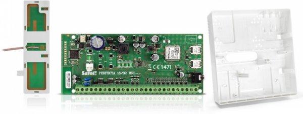 Zestaw Satel PERFECTA 16 SET-A (płyta główna, antena, obudowa)