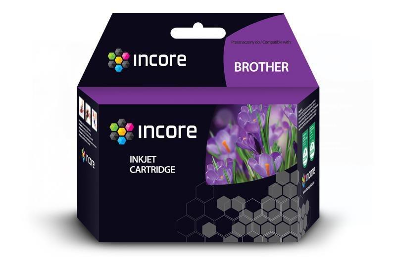 Tusz INCORE do Brother (LC123BK) Black 22 ml