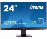 IIYAMA Monitor 24 ProLite XU2492HSU IPS,FLHD,HDMI,DP,USB<br />.