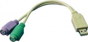 LogiLink Adapter USB 2.0 na 2x PS/2