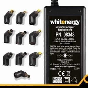Whitenergy WE Uniwersalny Sieciowy Zasilacz Automatyczny do Notebooka 90W