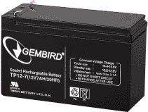 Gembird Akumulator uniwersalny 12V/7Ah