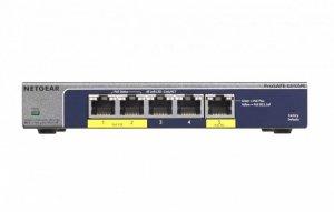 Netgear Switch Unmanaged Plus 5xGE (2xPoE+) - GS105PE