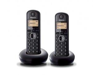 Panasonic KX-TGB212 Dect Black Duo