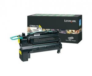 Lexmark Toner C792/X792 żółty 6k C792A1YG