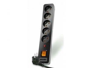 Acar Listwa przeciwprzepięciowa ACAR X5 3m czarna