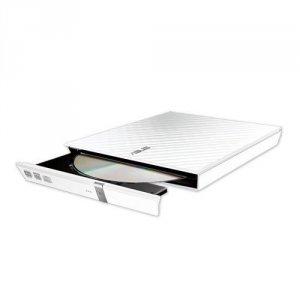 Asus Nagrywarka zewnętrzna SDRW-08D2S-U Lite Slim DVD USB biała