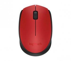 Logitech M171 Red Mysz Bezprzewodowa 910-004641