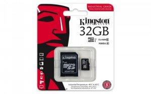 Kingston microSD 32GB CL10 UHS-I 90/45MB/s Industrial