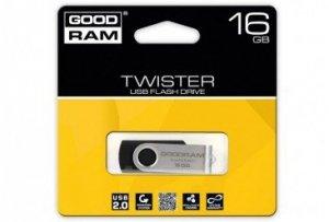 GOODRAM TWISTER 16GB Black USB2.0