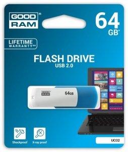 GOODRAM COLOR MIX  64GB USB2.0 MIX