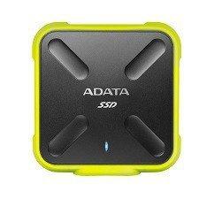 Adata SSD External SD700 1TB USB3.1 Durable Żółty