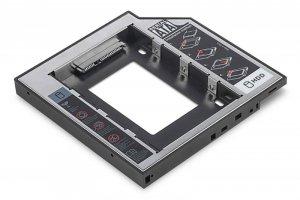 Digitus Ramka montażowa SSD/HDD do napędu CD/DVD/Blu-ray, SATA na SATA III, 12.7mm
