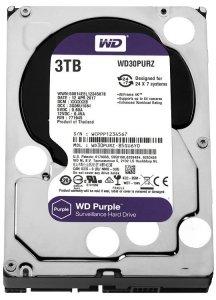 Western Digital HDD Purple 3TB 3,5'' 64MB SATAIII/5400rpm