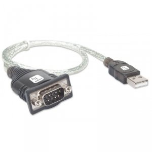 Techly Konwerter USB na RS232/ COM/DB9