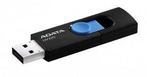 Adata Pendrive UV320 128G USB 3.2 Gen1 Czarno-niebieski