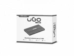 UGo Kieszeń zewnętrzna SATA 2,5'' USB 2.0 Aluminium
