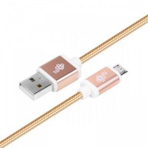 TB Kabel USB-Micro USB 1.5 m złoty sznurek