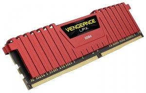 Corsair DDR4 Vengeance LPX 8GB/ 2400 RED CL16-16-16-39