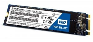 Western Digital Blue SSD 500GB SATA M.2 2280 WDS500G2B0B