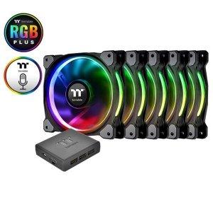 Thermaltake Riing 14 RGB Plus TT Premium Edition 5 Pack (5x140mm, 500-1400 RPM)