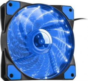 NATEC Wentylator do zasilacza/obudowy Genesis Hydrion 120 niebieski LED