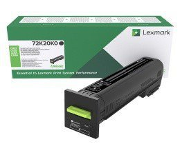 Lexmark Toner CS820 czarny 8k 72K20K0