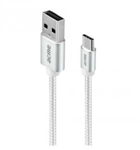 ACME Europe Kabel USB Typ C (M) - USB Typ A(M) CB2041S 1m
