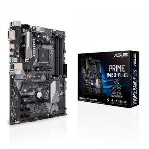 Asus Płyta Główna PRIME B450-PLUS AM4 4DDR4 DVI/HDMI/M.2 ATX