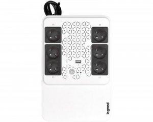 Legrand UPS Keor Multiplug 600 AVR 4+2 FR 310083