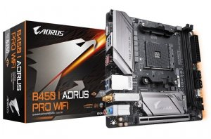 Gigabyte Płyta główna B450 I AORUS PRO WIFI AM4 2DDR4 DP/HDMI/M.2 ITX