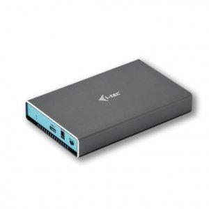 i-tec Zewnętrzna obudowa na dysk MySafe USB-C 3.1 Gen. 2, HDD/SSD 2,5 9.5mm SATA I/II/III