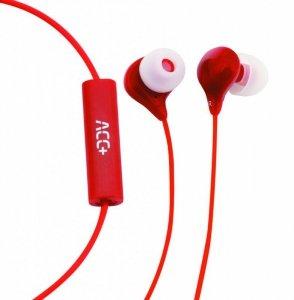 ACC+ Słuchawki douszne Soul czerwone