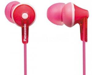 Panasonic Słuchawki douszne RP-HJE125 różowe