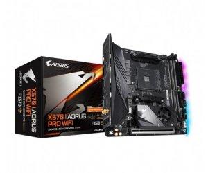 Gigabyte Płyta główna X570 Aorus Pro WIFI AM4 4DDR4 2HDMI/DP mini ITX