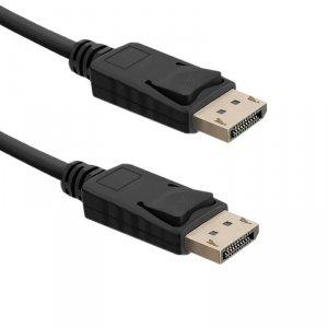 Qoltec Kabel DisplayPort v1.4 Męski - DisplayPort v1.4 Męski  0.5m