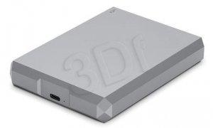 LaCie Dysk zewnętrzny Mobile Drive 2TB USB-C STHG2000402 Szary