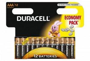 Duracell Baterie Basic AAA/LR3 12szt blister