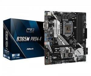 ASRock Płyta główna B365M Pro4-F s1151 4DDR4 HDMI/DVI/D-SUB uATX