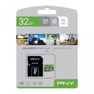 PNY Karta pamięci MicroSDHC Elite 32GB P-SDU32GU185GW-GE