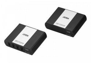 ATEN Przedłużacz USB2.0 Cat.5 4-portowy UEH4002A
