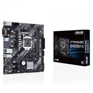 Asus Płyta główna PRIME B460M-K s1200 4DDR4  M.2 USB3.2 mATX