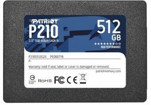 Patriot Dysk SSD 512GB P210 520/430 MB/s SATA III 2.5