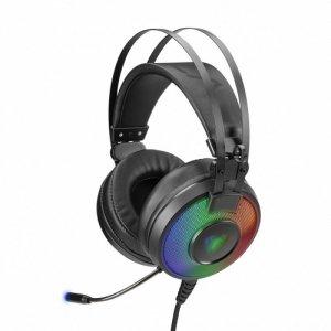 AULA Gaming Eclipse słuchawki z mikrofonem dla graczy (z podświetleniem) PC / XBOX ONE /PS4