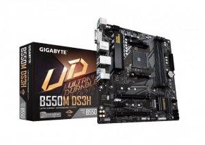 Gigabyte Płyta główna B550M DS3H AM4 4DDR4 HDMI/DVI M.2 USB3.2 mATX