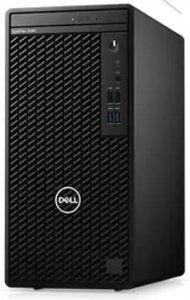 Dell Komputer Optiplex 3080 MT/Core i3-10100/8GB/256GB SSD/Integrated/DVD RW/No Wifi/Kb/Mouse/260W/W10Pro