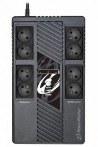 PowerWalker Zasilacz UPS Line-In 600VA 8xFR VI 600 MS FR
